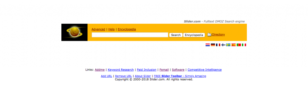 Slider Search Engine