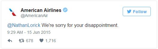 Their Twitter Response