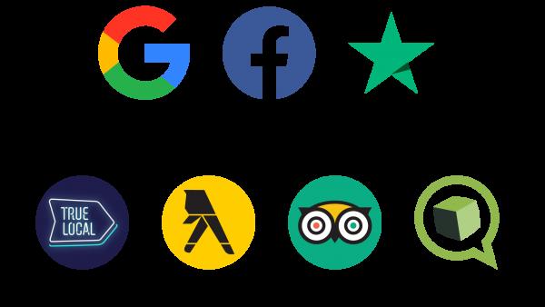 AddMe Review Logos
